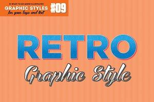 10 Retro Vintage Graphic Style