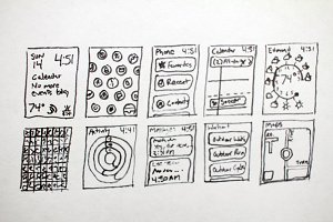 Hand Drawn Apple Watch Layouts