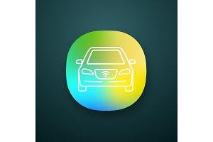 Smart car app icon