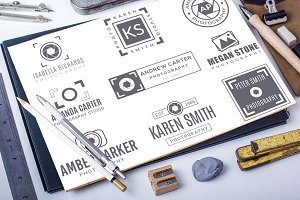 Premade Photography Logo Bundle 01