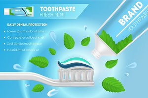 Whitening Toothpaste and Toothbrush
