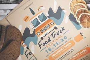 Food Truck Fest Flyer