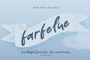 Farfelue Playful Brush Font