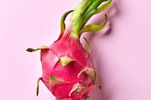 Tropical ripe fruit of dragon eye on