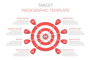Target - Infographic Template