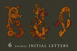 Animal initial letters