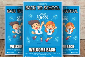 Kids Back to School Flyer