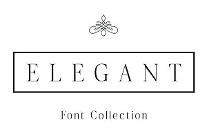 Elegant - Font Collection - 7 Fonts