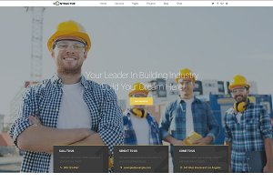 Contactor home build WordPress theme