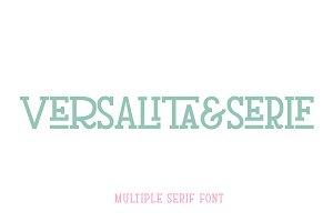 Versalita&Serif - Font