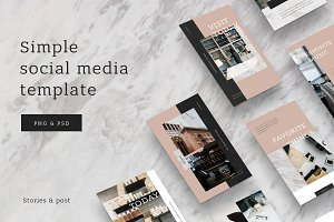 Simple - social media template