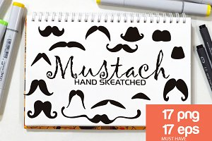 Party Mustach ClipArt