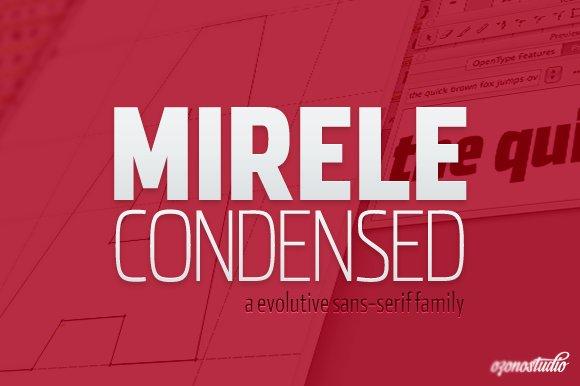 Mirele - Sans Serif Font