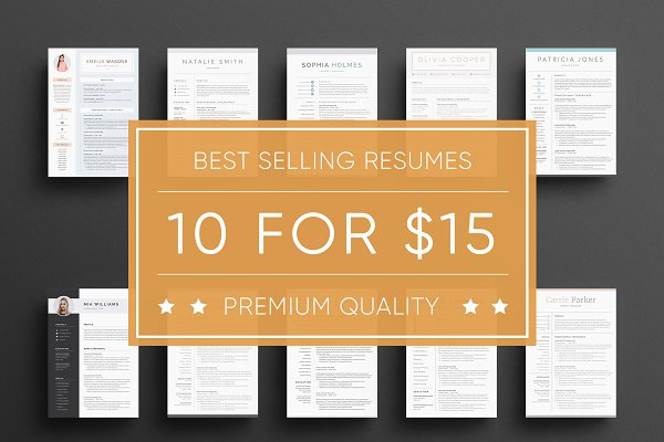Super Bundle - Resume Templates