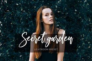 Secret garden Lightroom preset
