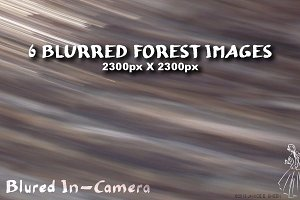 6 Motion Blur Textures: Forest Set 2