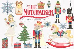 The Nutcracker Ballet Clip Art Set