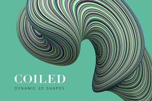 Coiled: Twisting 3D Shapes