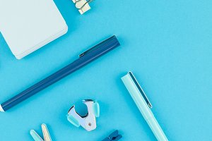 Workspace desk styled design office