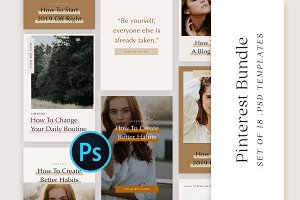 SALE | Pinterest Template Bundle Kit