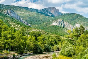 The Verdon, a river in Provence