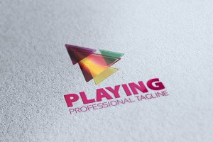 Play Logo Template