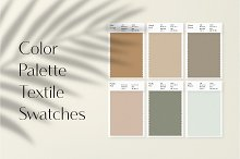 Genevieve Color Swatches by  in Mockups