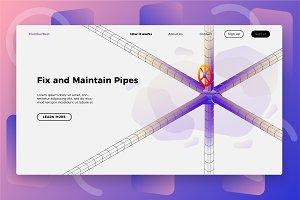 Plumber Maintenance - Landing Page