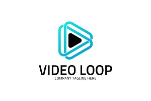 Video Loop - Infinity Media Logo