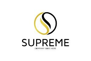 Supreme - Letter S Logo Template