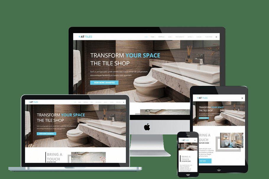 AT Tiles - Construction website