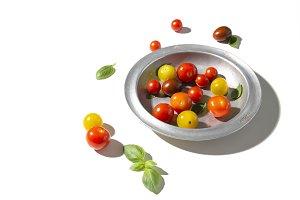 Tomato medley in bowl