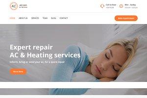 Aircon - AC Service HTML Template