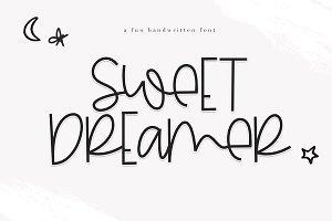 Sweet Dreamer - Fun Handwritten Font