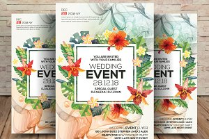Wedding Event Flyer