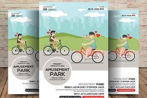 Amusement Park Flyer