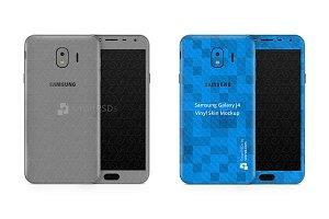 Samsung Galaxy J4 Vinyl Skin Design