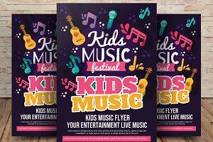 Kids Music Festival Flyer / Poster