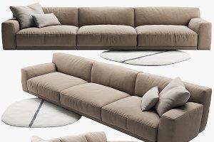 Poliform Paris-Seoul sofa 3