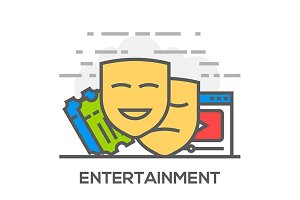 Entertainment Illustration
