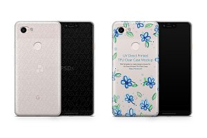 Google Pixel 3 XL UV TPU Clear Case