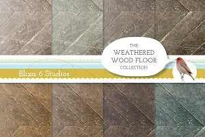 Weathered Wood Background Textures
