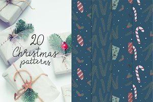 The Christmas pattern collection