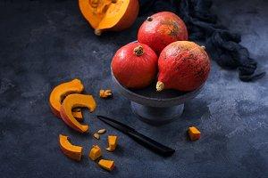Pumpkins, cooking with fresh pumpkin