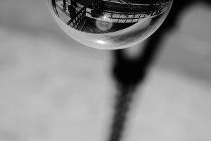 Eiffel Tower in Crystal Ball