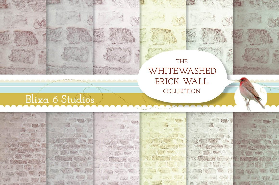 How To Whitewash Brick Whitewashed Brick Wall Backgrounds Textures On Creative Market