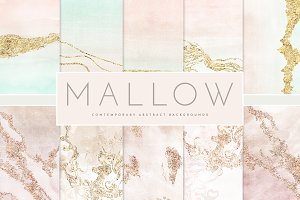 Watercolor Foil Texture Contemporary