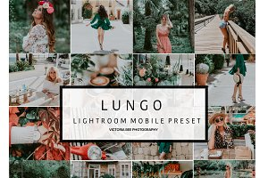 Mobile Lightroom Preset LUNGO