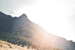 Boulder Colorado Evening Sun