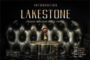 LAKESTONE - A Elegant Luxury font